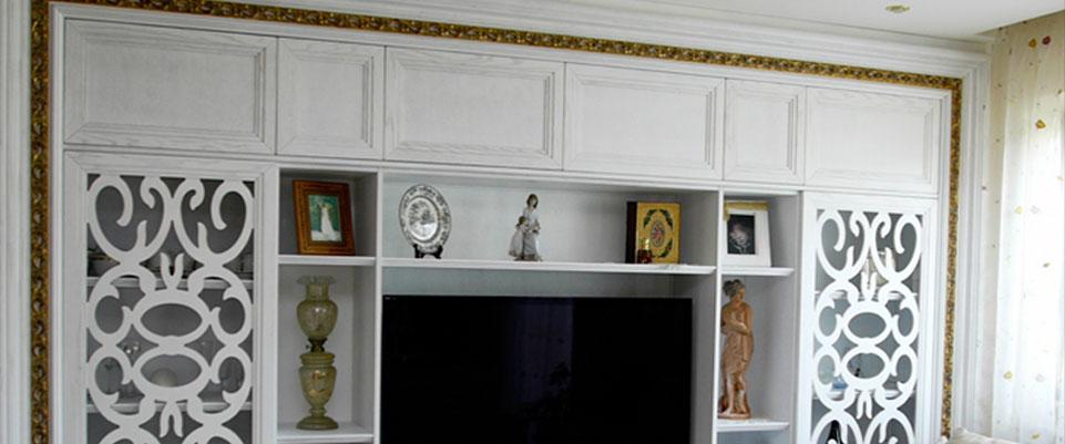 Gli artigiani mobili su misura rustici a roma cucine - Rivestimenti per cucine classiche ...