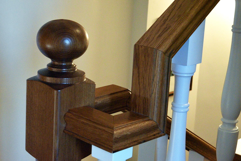 Scale su misura Roma, in legno fatte artigianalmente