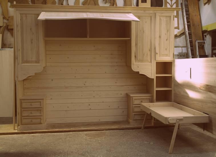 Armadio legno a ponte classico 2 fabbrica di zona notte su misura ...