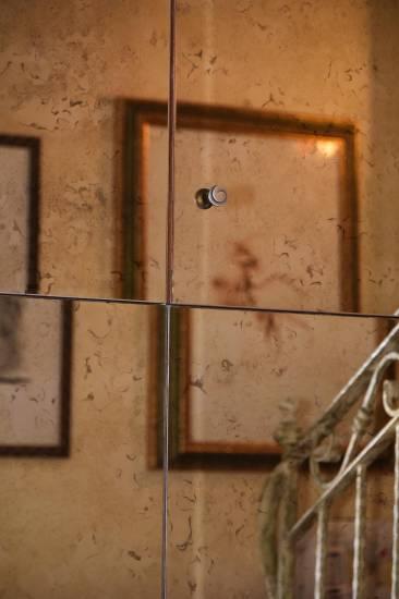 Armadio a specchio per ingresso in legno su misura fabbrica di Zona ...