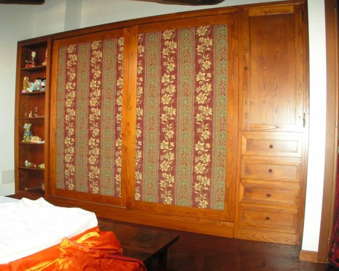 Armadio legno ante stoffa 1 design esclusivo fabbrica di for Armadio stoffa ikea