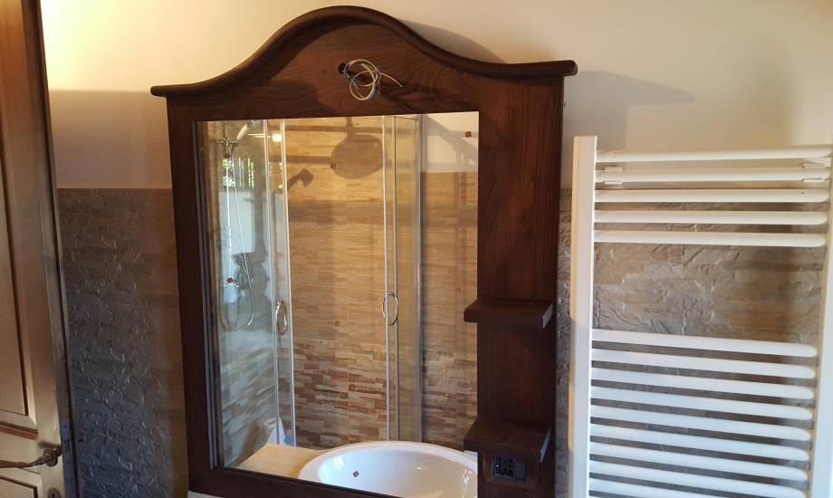 Bagno Legno Rustico : Mobile bagno in legno rustico cuoio contemporaneo fabbrica di