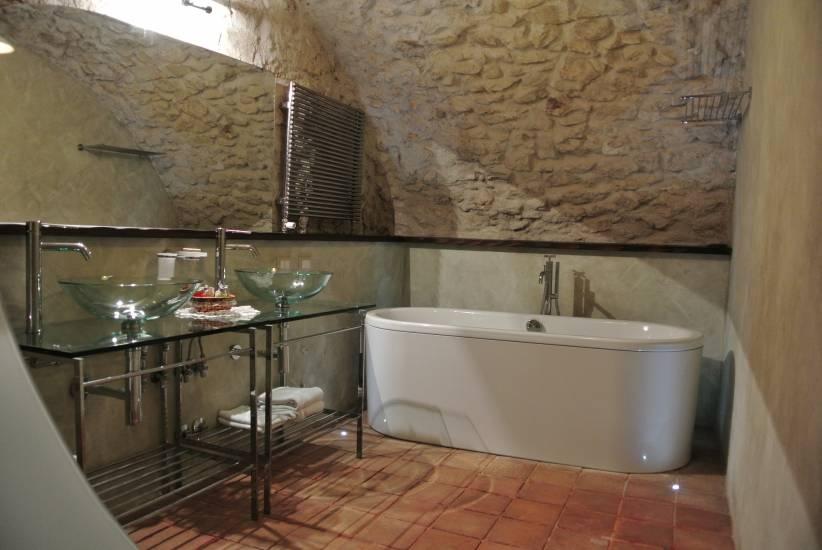 Mobile Bagno in legno rustico contemporaneo albergo Robur Marsorum ...
