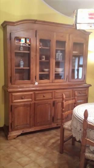 Credenza della nonna in legno massello di castagno - I mobili della nonna ...