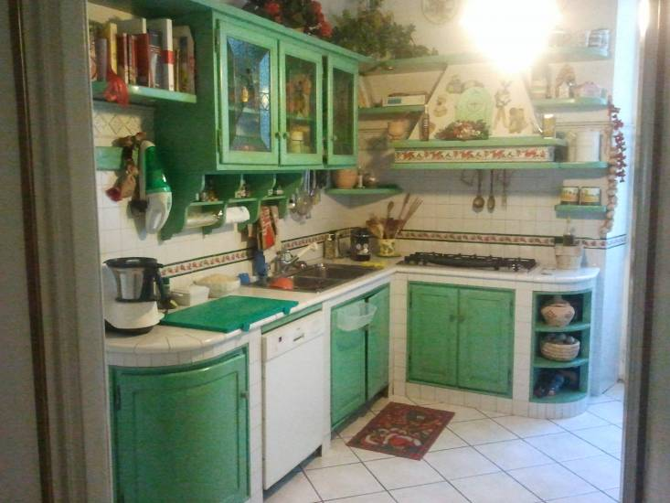 Beautiful Cucina Country Verde Gallery - Orna.info - orna.info