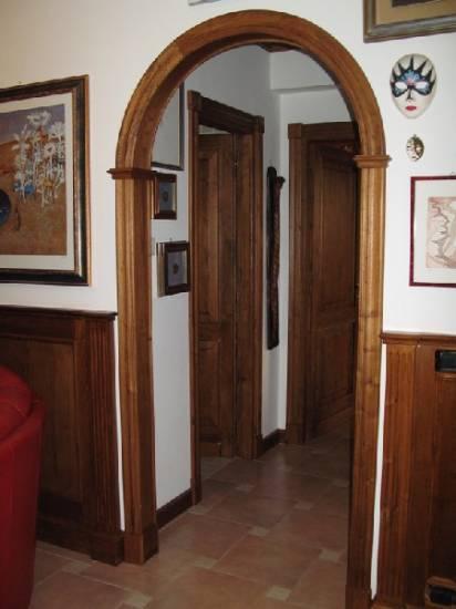Porte Scorrevoli Roma : Imbotto arco in legno fabbrica di portoni infissi e scale