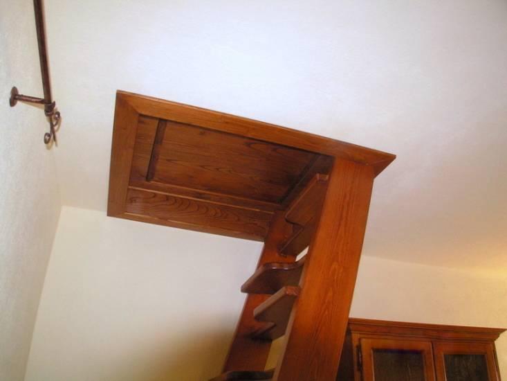 Casa immobiliare, accessori: Scala soffitta