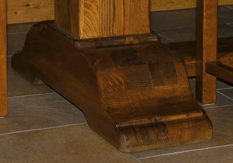 Credenza Arte Povera In Castagno : Tavolo legno castagno metri e cm fabbrica di zona giorno su