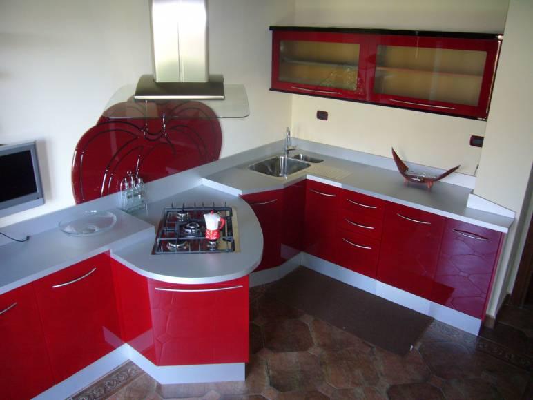 Cucina artigianale moderna Saro design esclusivo in legno fabbrica ...