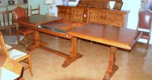 Tavolo-legno-boccia-allungabile fabbrica di Zona giorno su misura ...