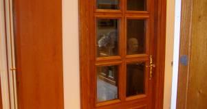 Porta a vetri all 39 inglese design esclusivo in legno - Porte all inglese ...